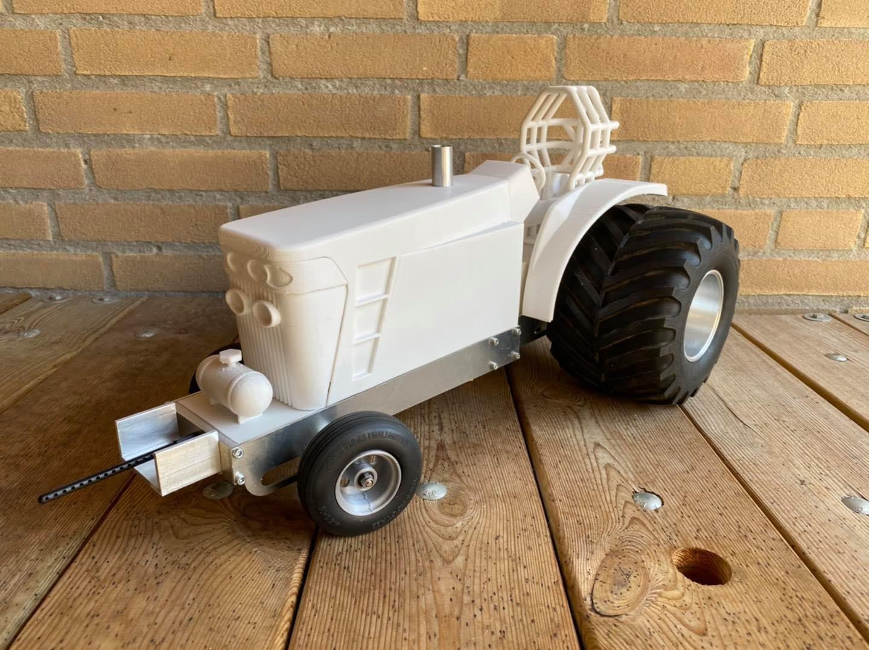 Custom built tractor
