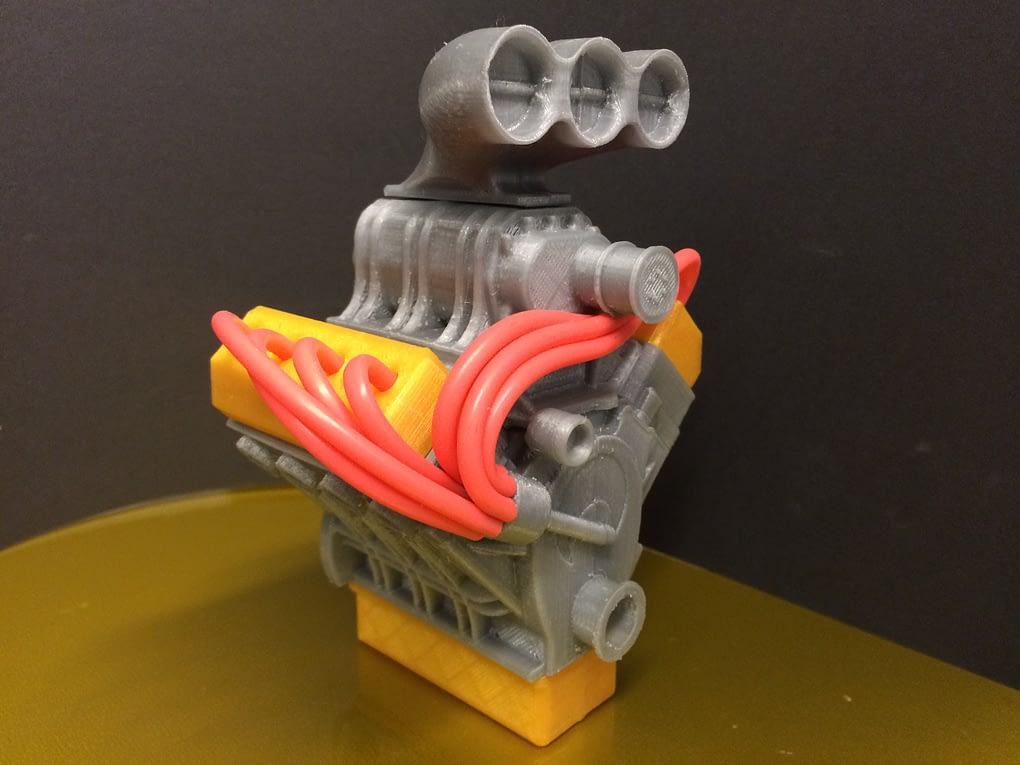 3D printed gallery