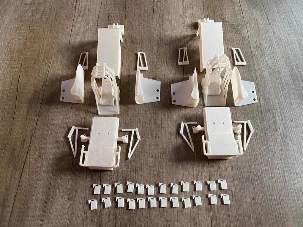 D21 scale parts 1/16