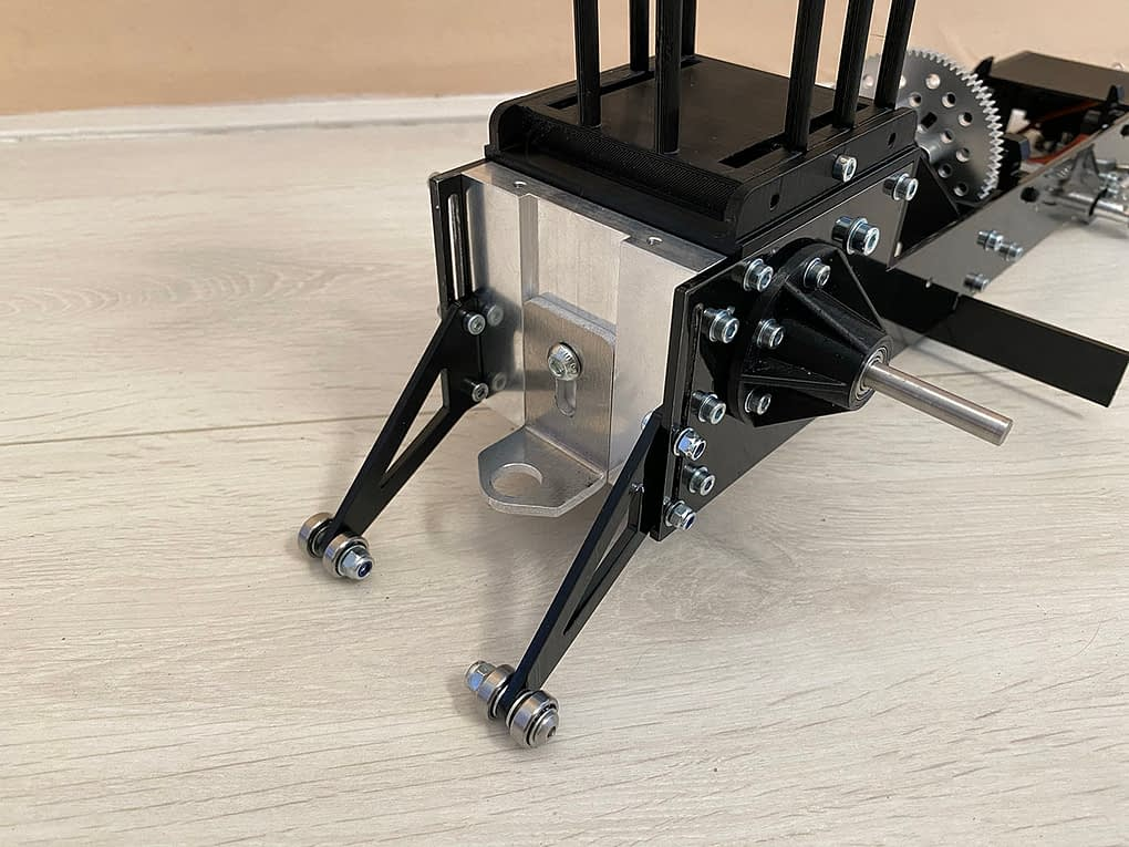 Adjustable hitch & wheely bars