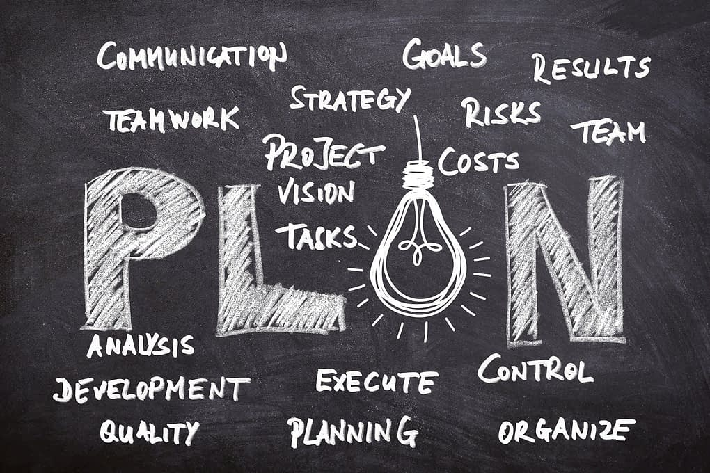 Step 1 - Make a plan